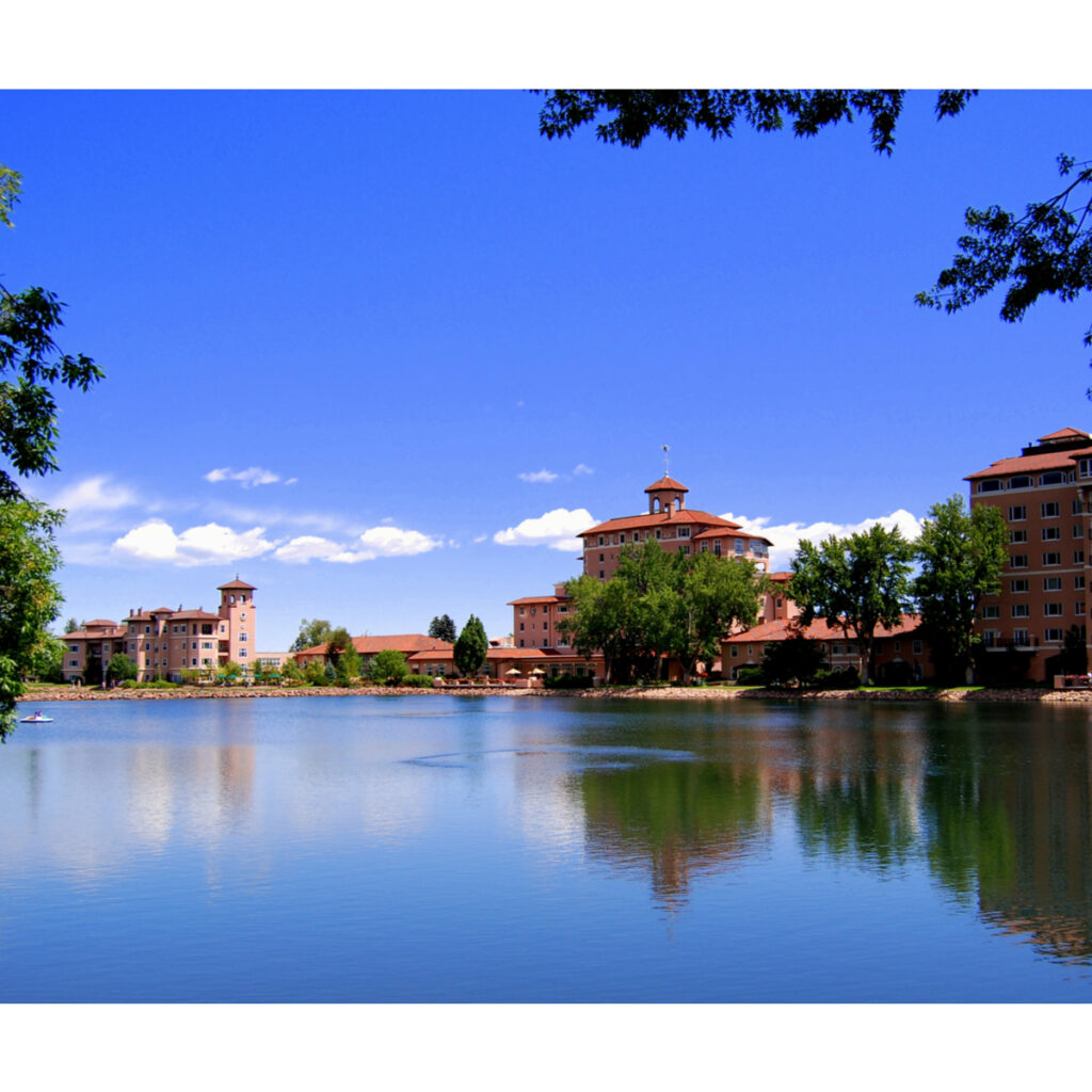 The Broadmoor in Colorado Springs, Colorado.