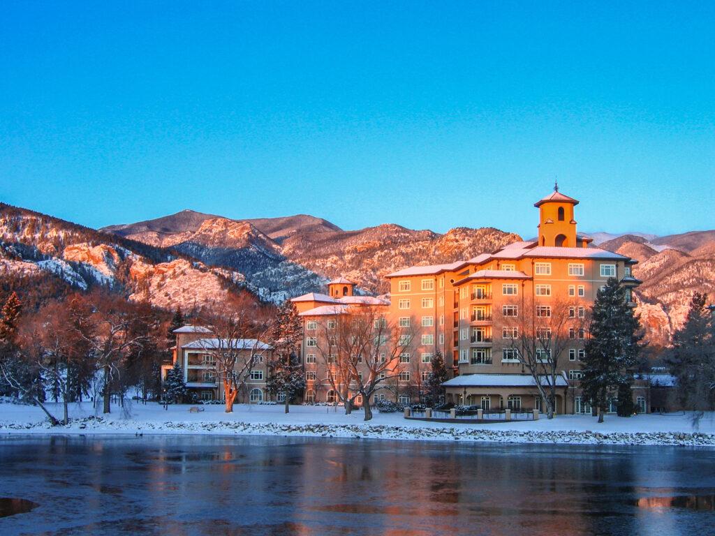 The Broadmoor in Colorado Springs.