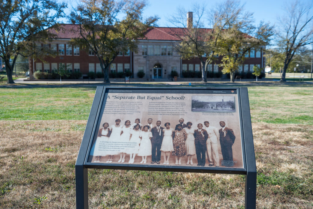 The Brown vs. Board of Education National Historic Site in Topeka.