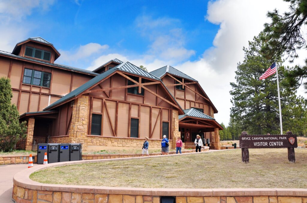 The Bryce Canyon Visitor Center.