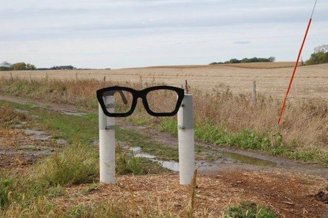 The Buddy Holly Crash Site near Clear Lake, Iowa.