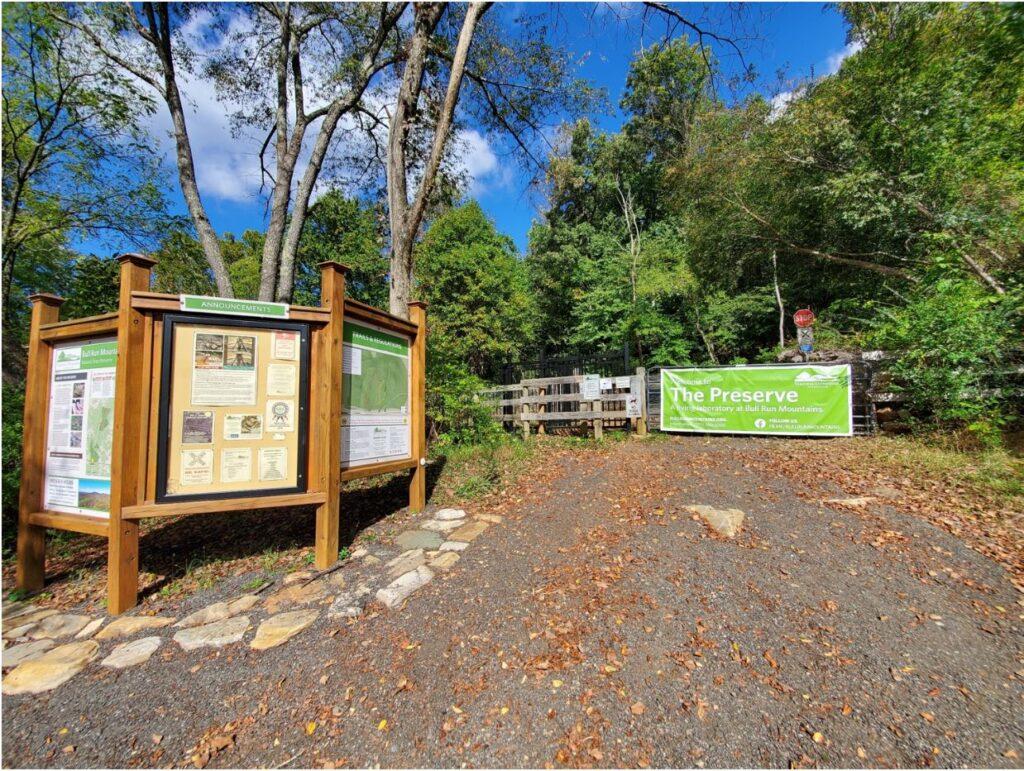 The Bull Run Mountains Natural Area Preserve.