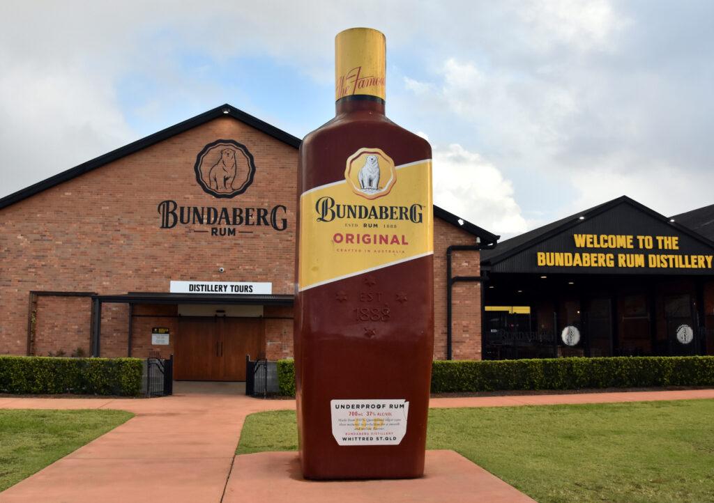 The Bundaberg Rum distillery in Australia.