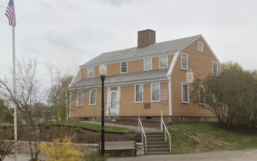 The Burnham Tavern Museum in Machias, Maine.