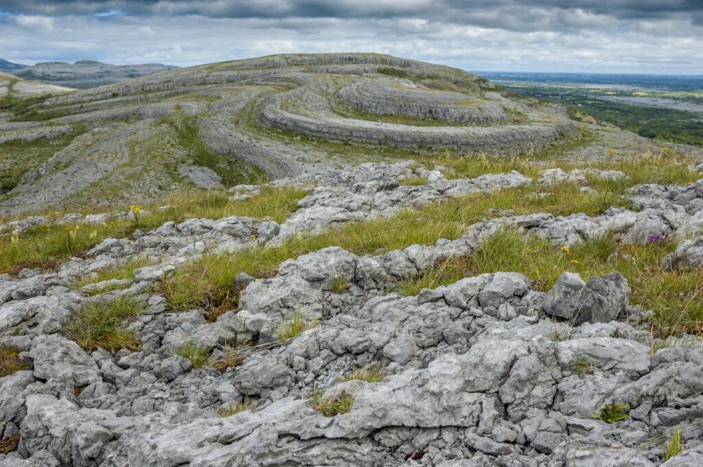 The Burren in County Clare, Ireland.