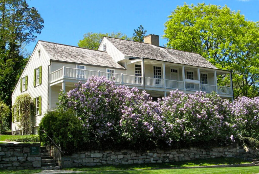 The Bush-Holley House in Greenwich.