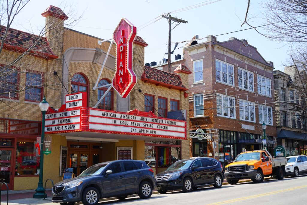 The Buskirk-Chumley Theater.