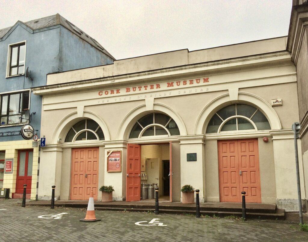 The Butter Museum in Cork, Ireland.