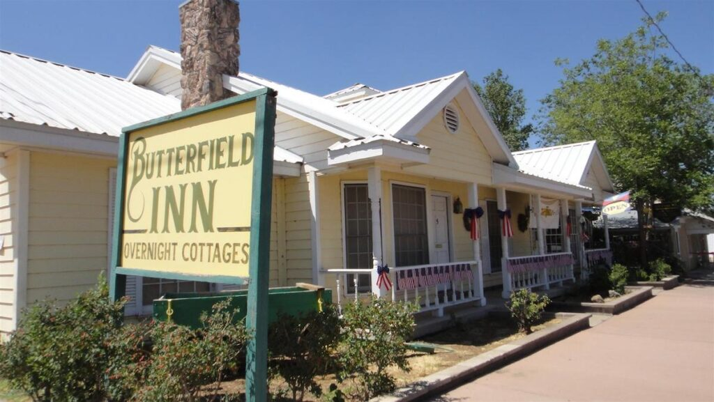 The Butterfield Inn Cottages in Texas.