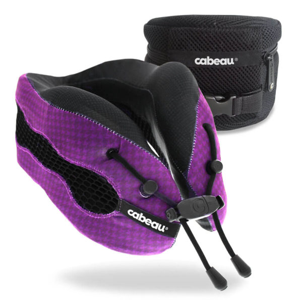 The Cabeau Evolution Cool travel pillow.