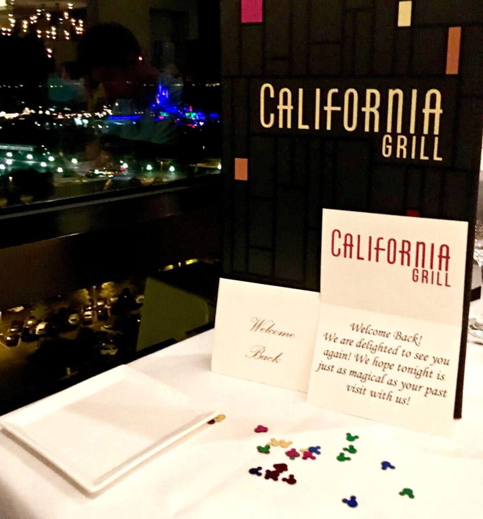 The California Grill.