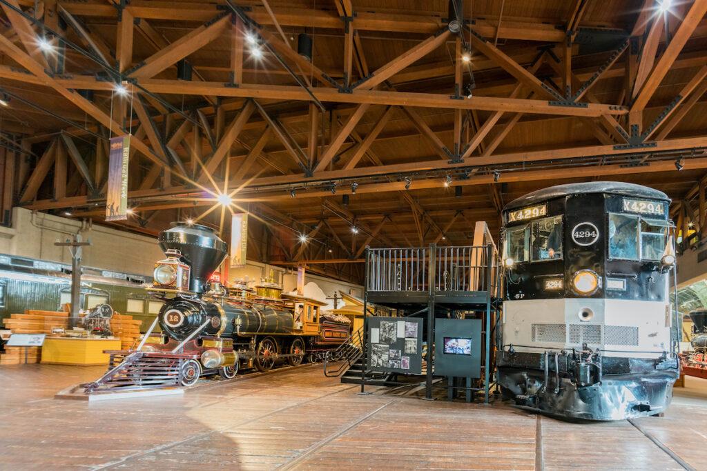 The California State Railroad Museum