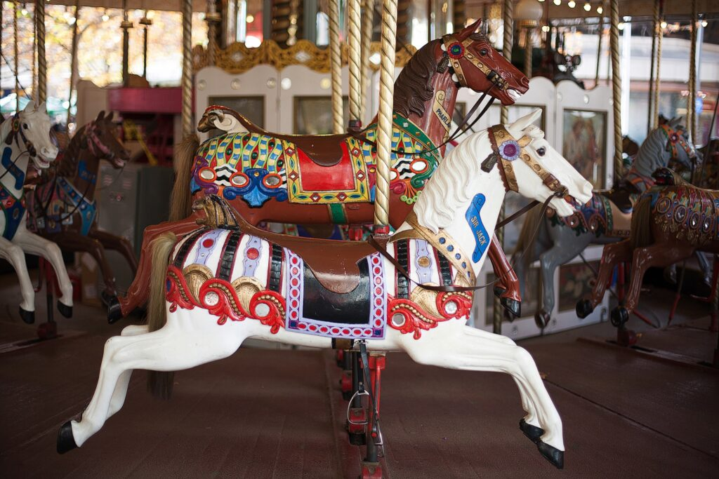 The Canberra Carousel in Australia