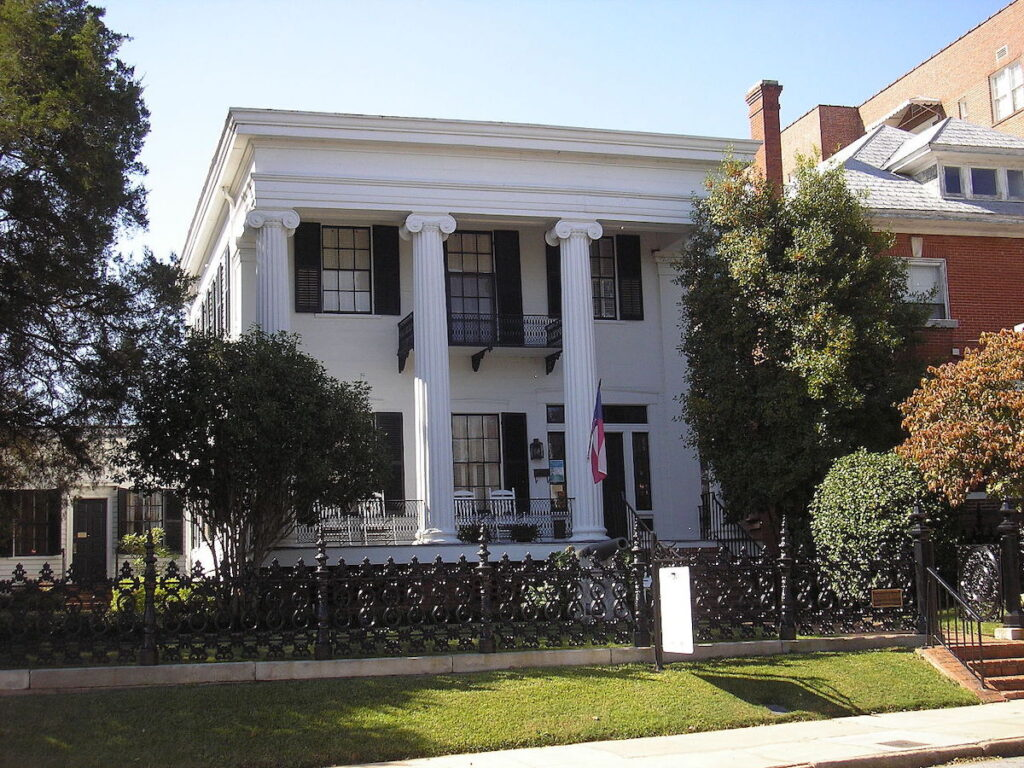 The Cannonball House in Macon, Georgia.
