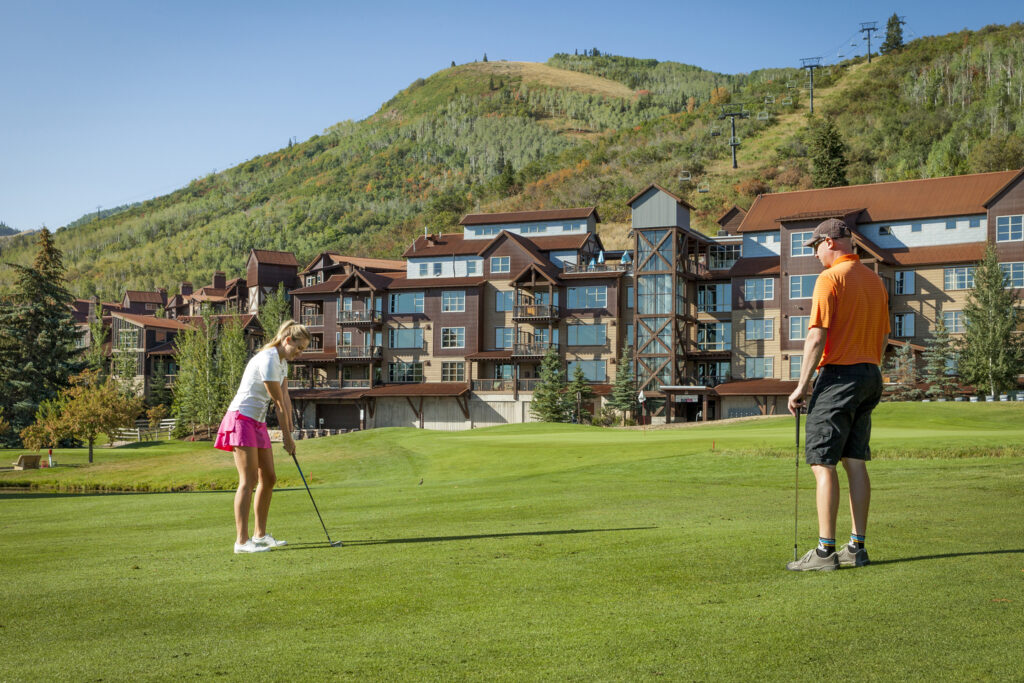 The Canyons Golf Course in Park City.