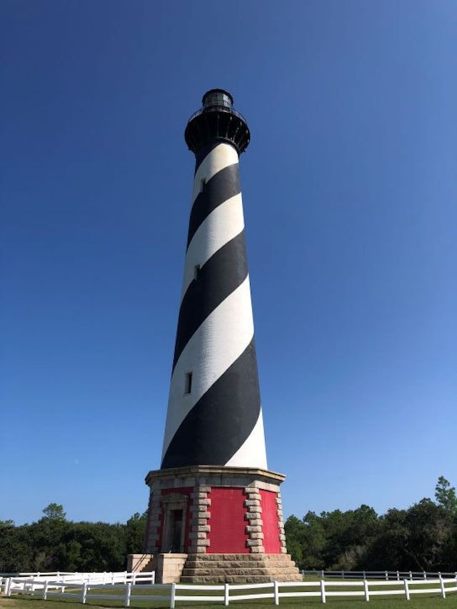 The Cape Hatteras Light Station in North Carolina.