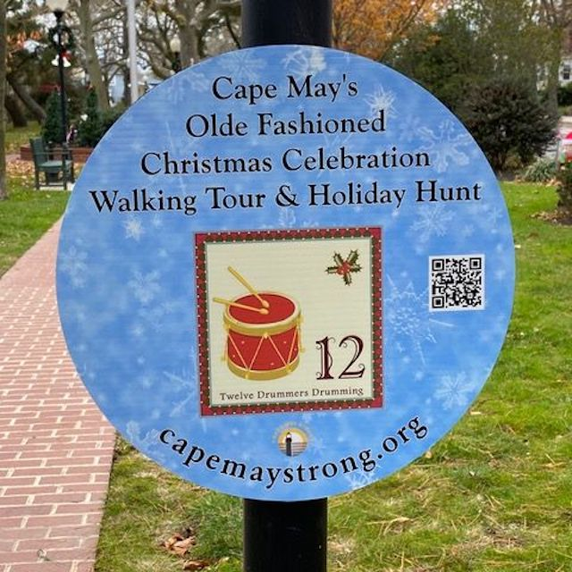 The Cape May Walking Tour and Holiday Hunt.