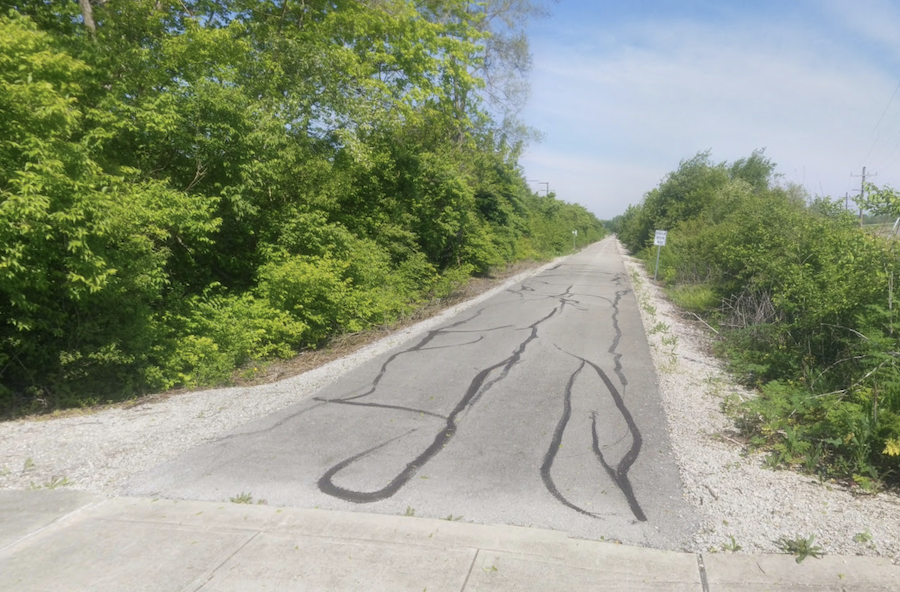The Cardinal Greenways through east central Indiana.