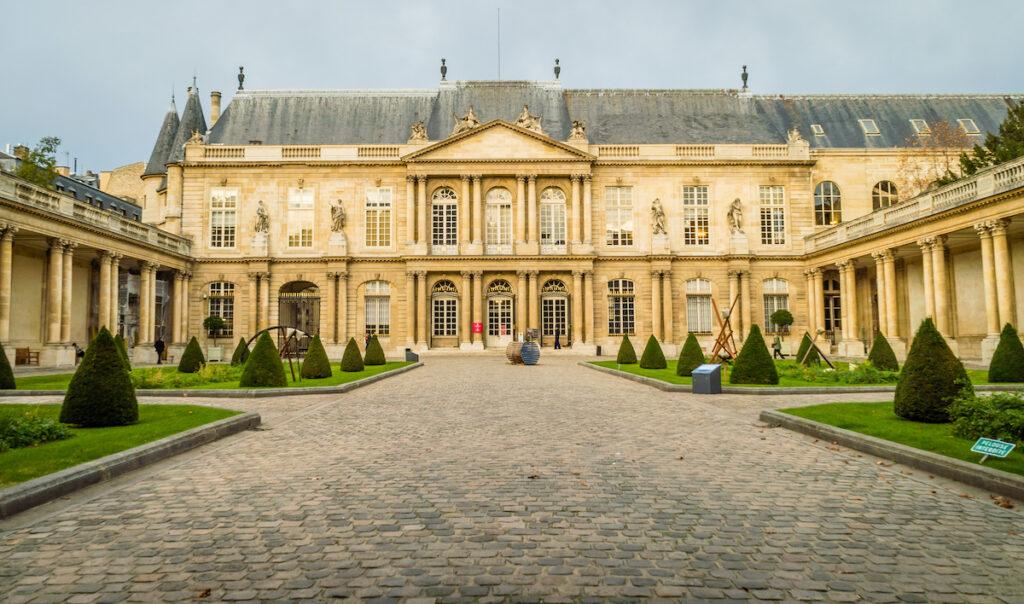 The Carnavalet Museum in Paris, France.