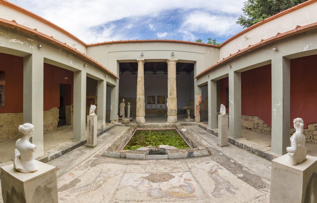 The Casa Romana in Kos, Greece.