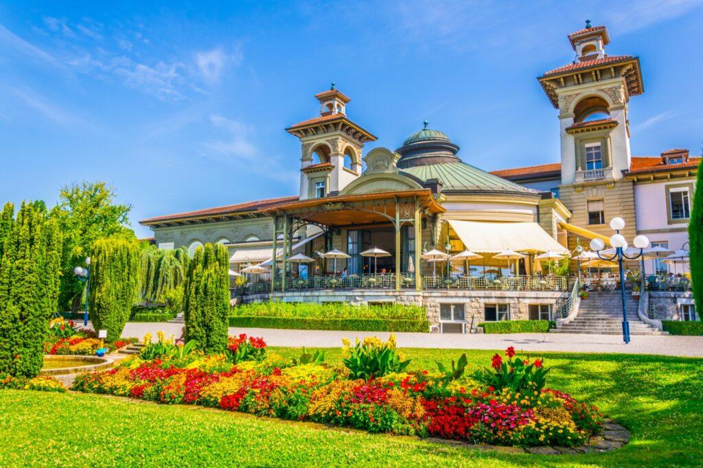 The Casino de Montbenon in Lausanne.