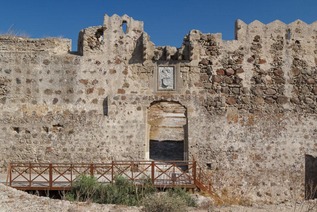 The Castle of Antimachia in Kos, Greece.