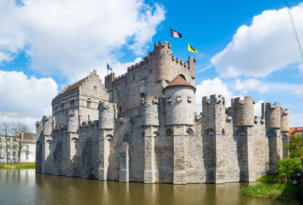 The Castle of the Counts in Ghent.
