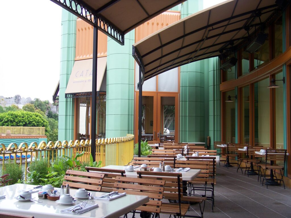 The Catal Restaurant.