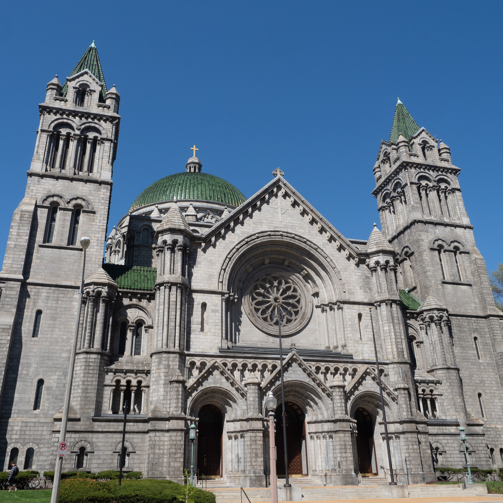 The Cathedral Basilica of St. Louis in Missouri.