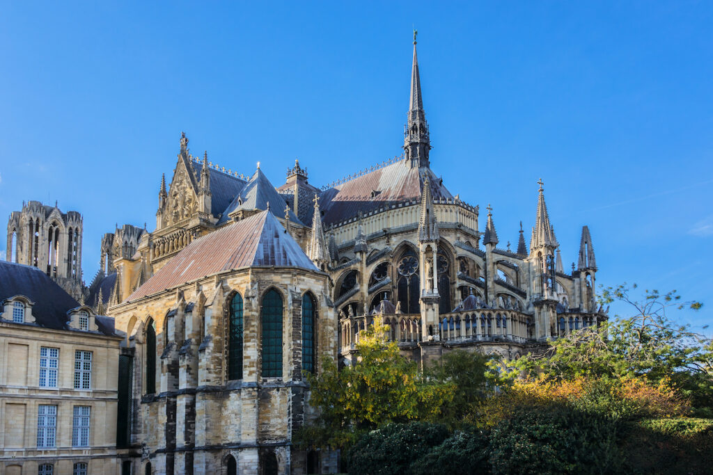 The Cathedral Notre-Dame in Reims, France.