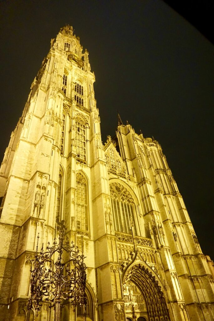 The Cathedral of Our Lady Antwerp in Belgium.
