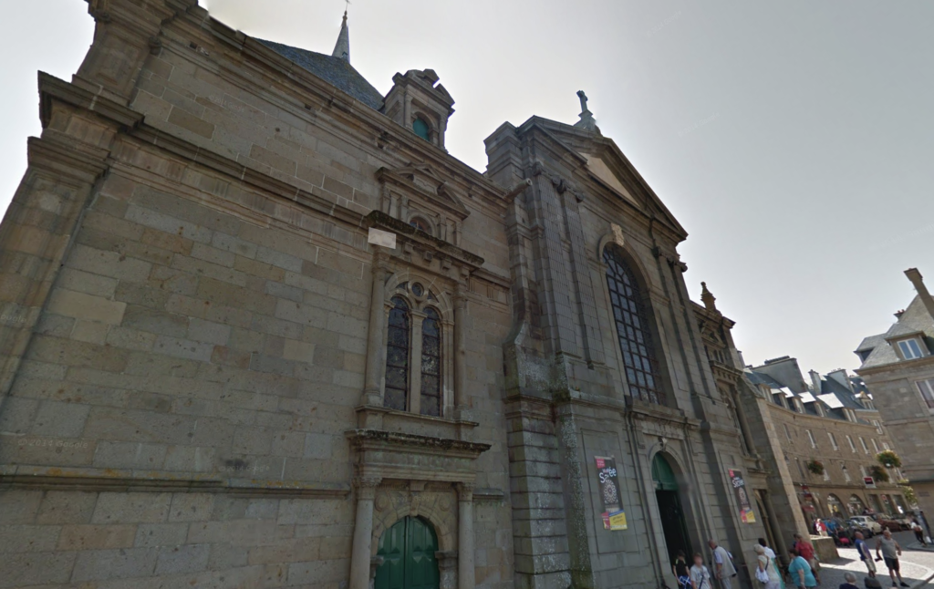 The Cathedral of Saint-Malo.