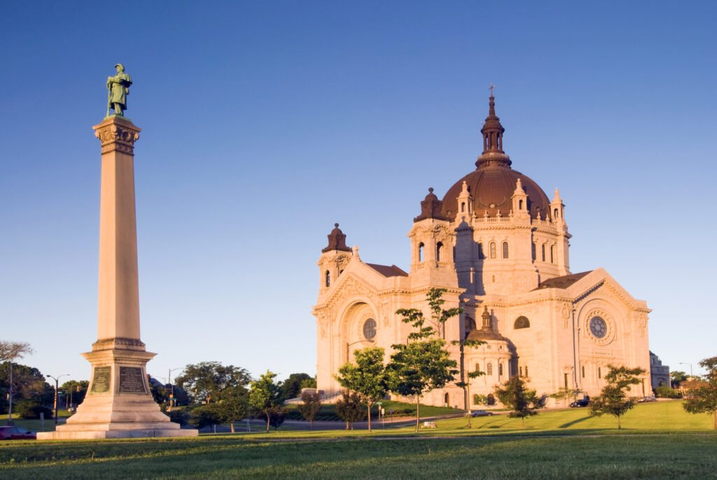 The Cathedral of Saint Paul.