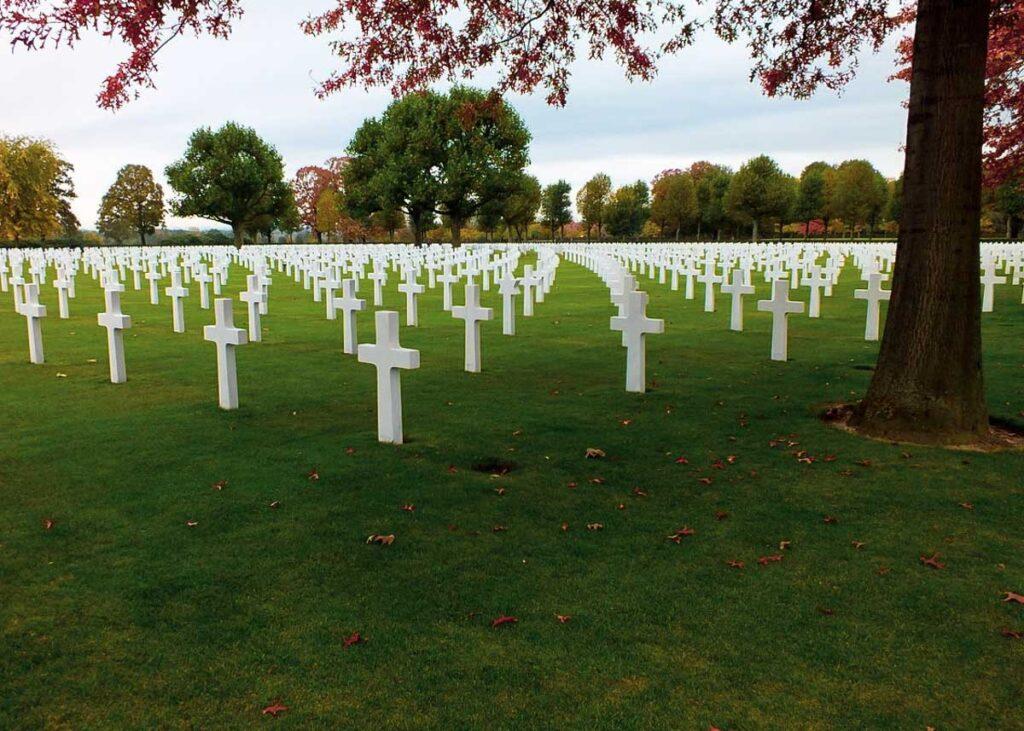 The cemetery in Margraten.