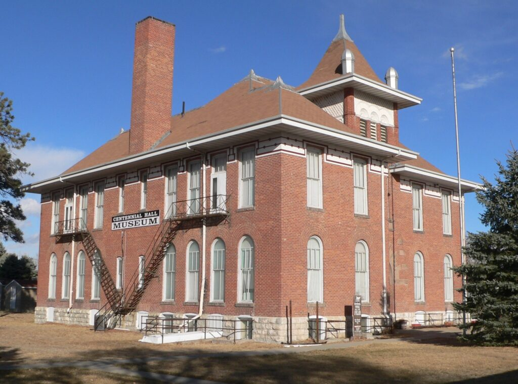 The Centennial Hall Museum in Valentine.