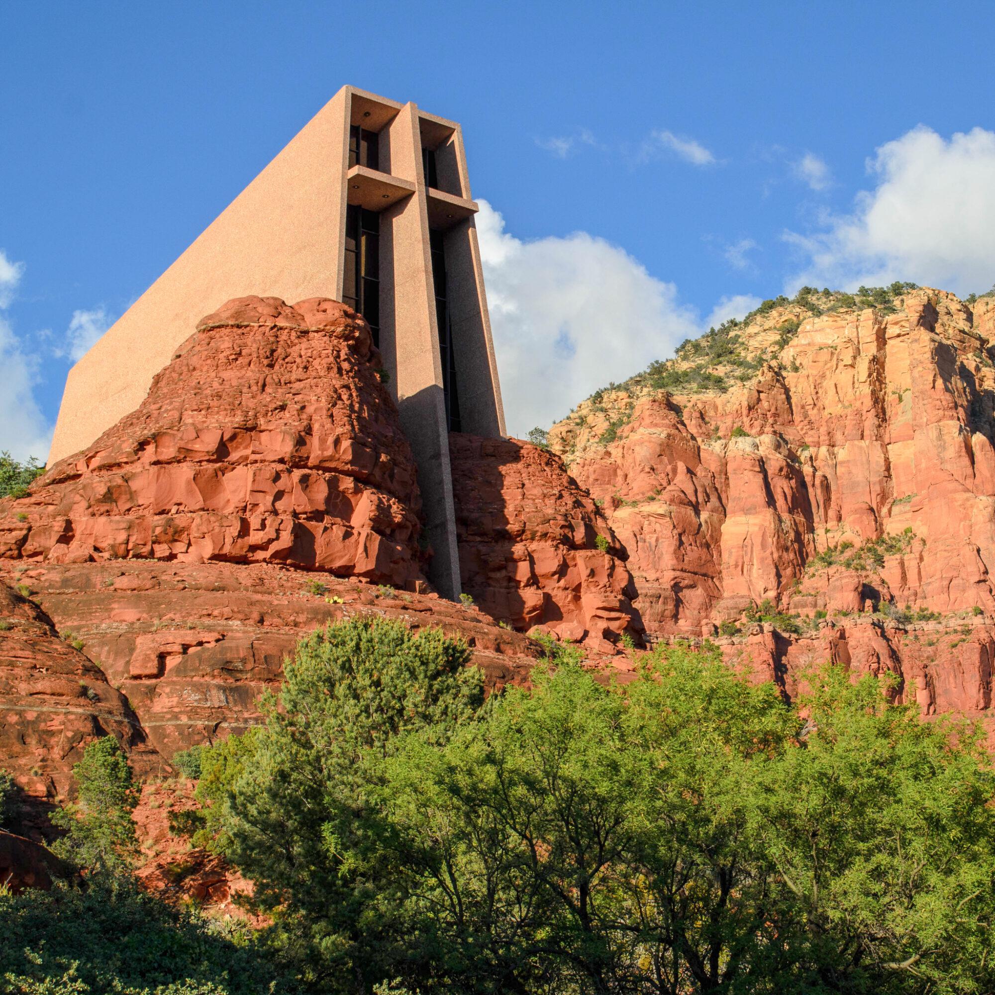 The Chapel of the Holy Cross in Sedona, Arizona.