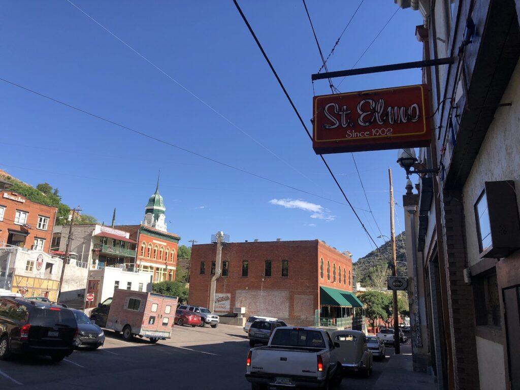 The charming town of Bisbee near Tombstone, Arizona.