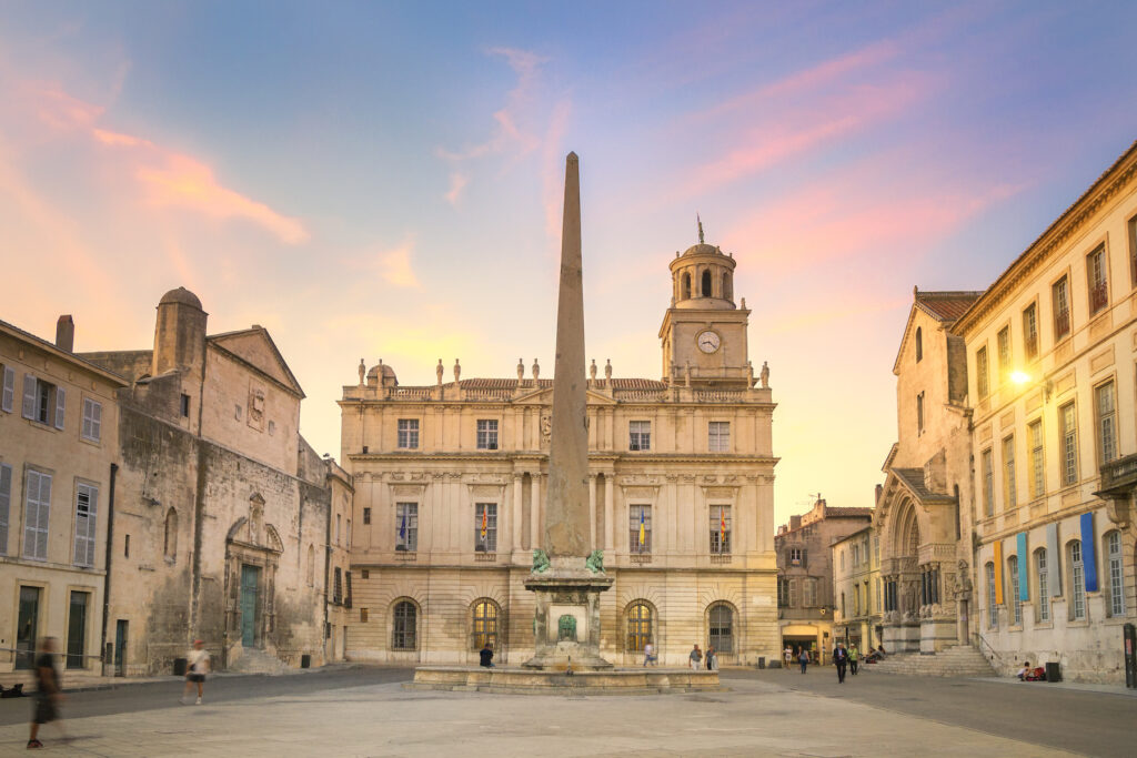 The charming village of Arles, France.