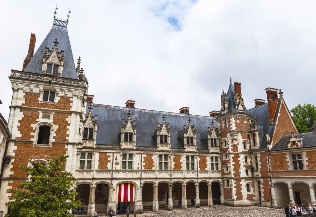 The Chateau de Blois in Blois, France.