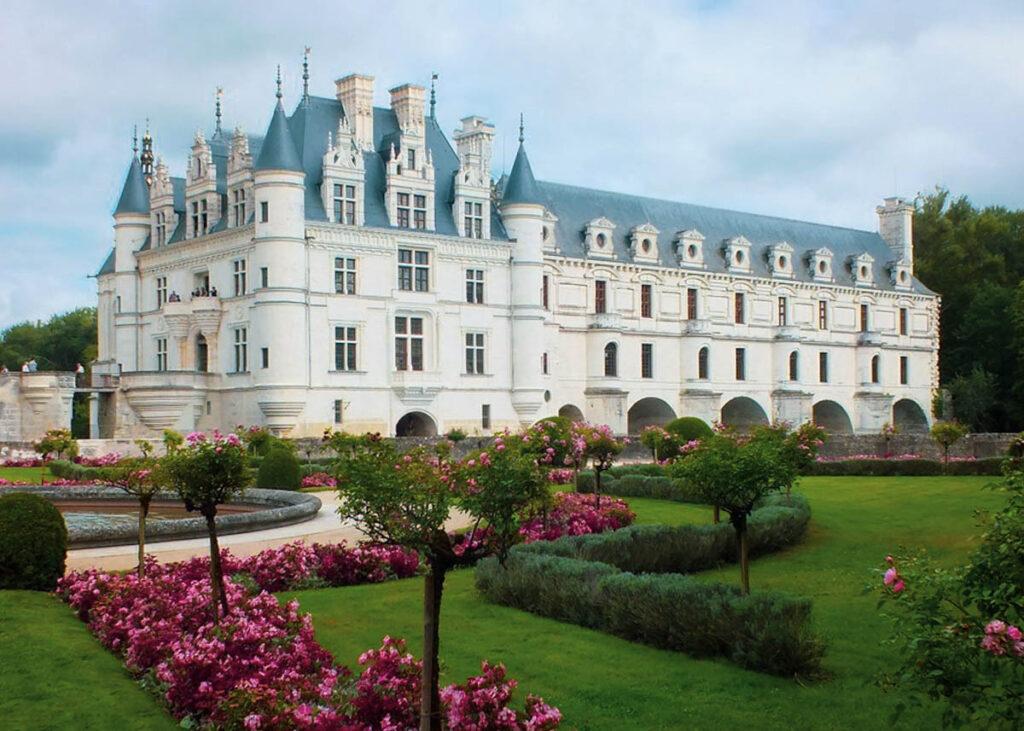 The Chateau De Chenonceau in Chenonceaux, France.