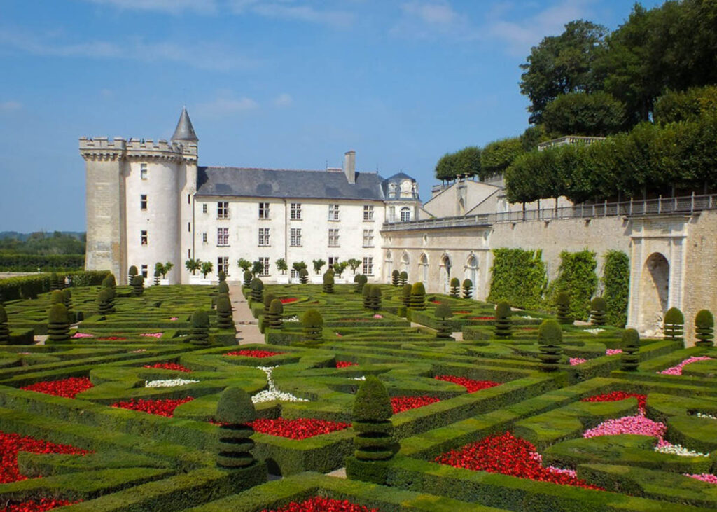 The Chateau De Villandry in Villandry, France.