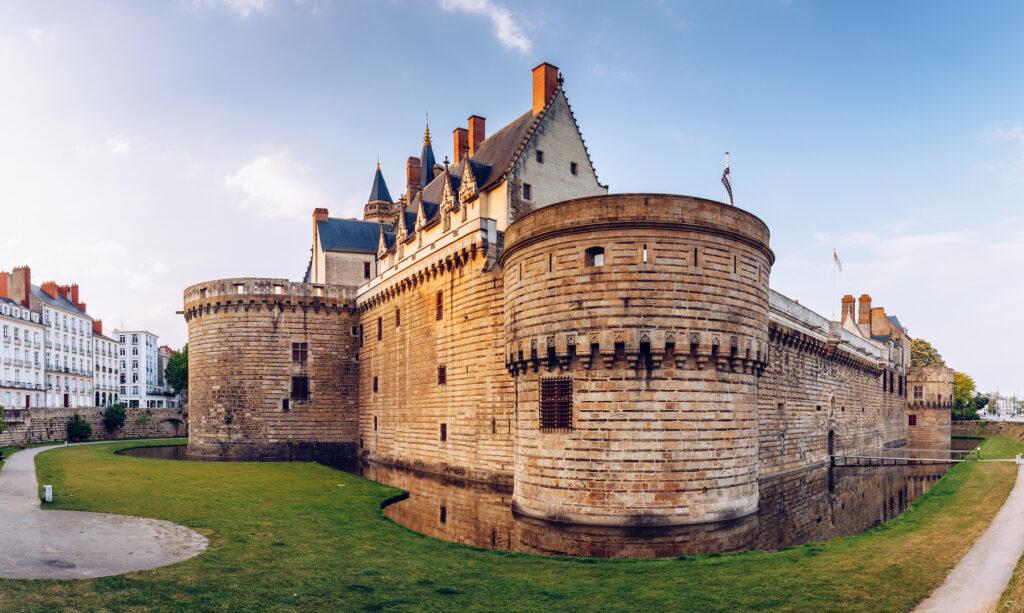 The Chateau des Ducs de Bretagne in Nantes.