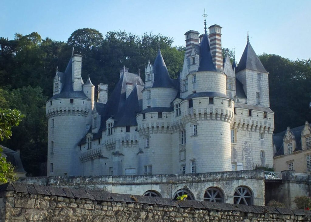 The Chateau D'Usse in Rigny-Usse, France.