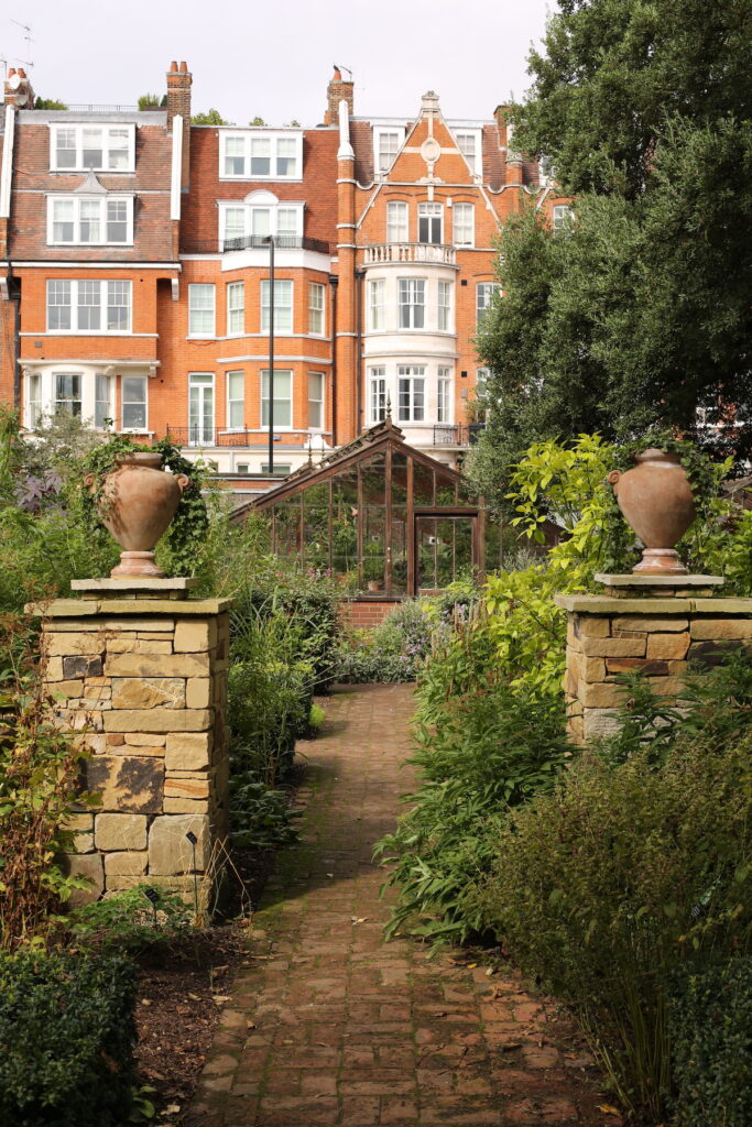 The Chelsea Physic Garden in London.