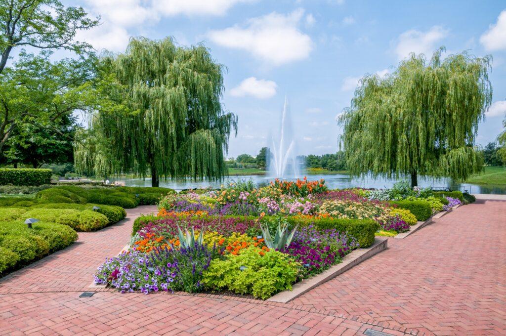 The Chicago Botanic Garden.