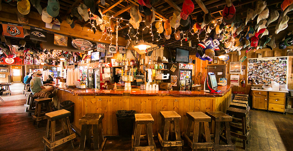 The Chico Saloon in Montana.