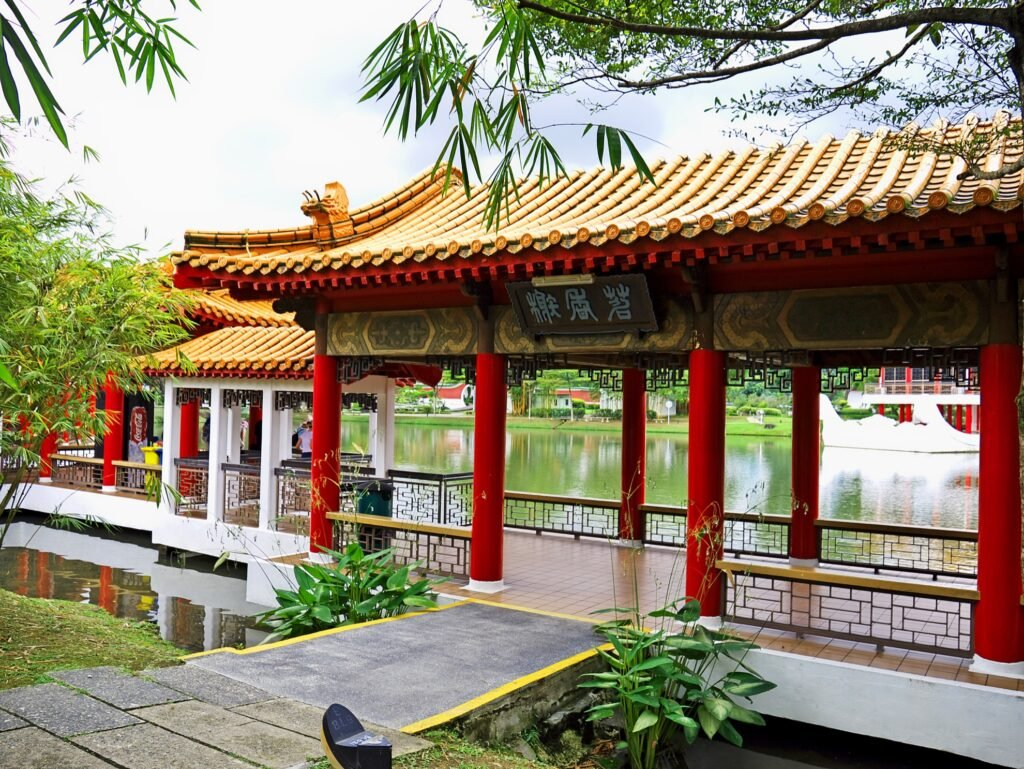 The Chinese Garden in Singapore.