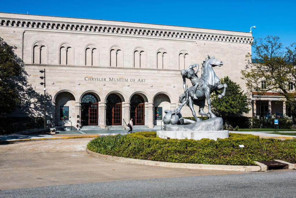 The Chrysler Museum of Art in Norfolk, Virginia.