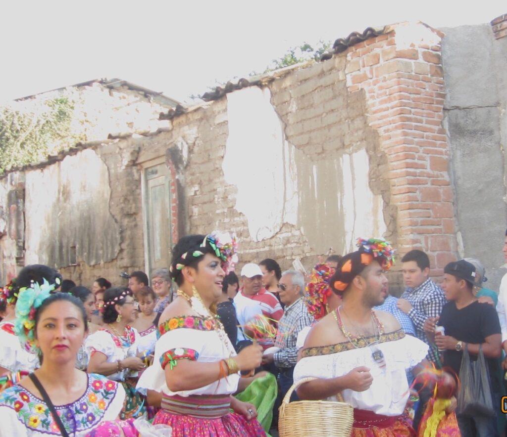 The chuntaes at Fiesta Grande de Enero.