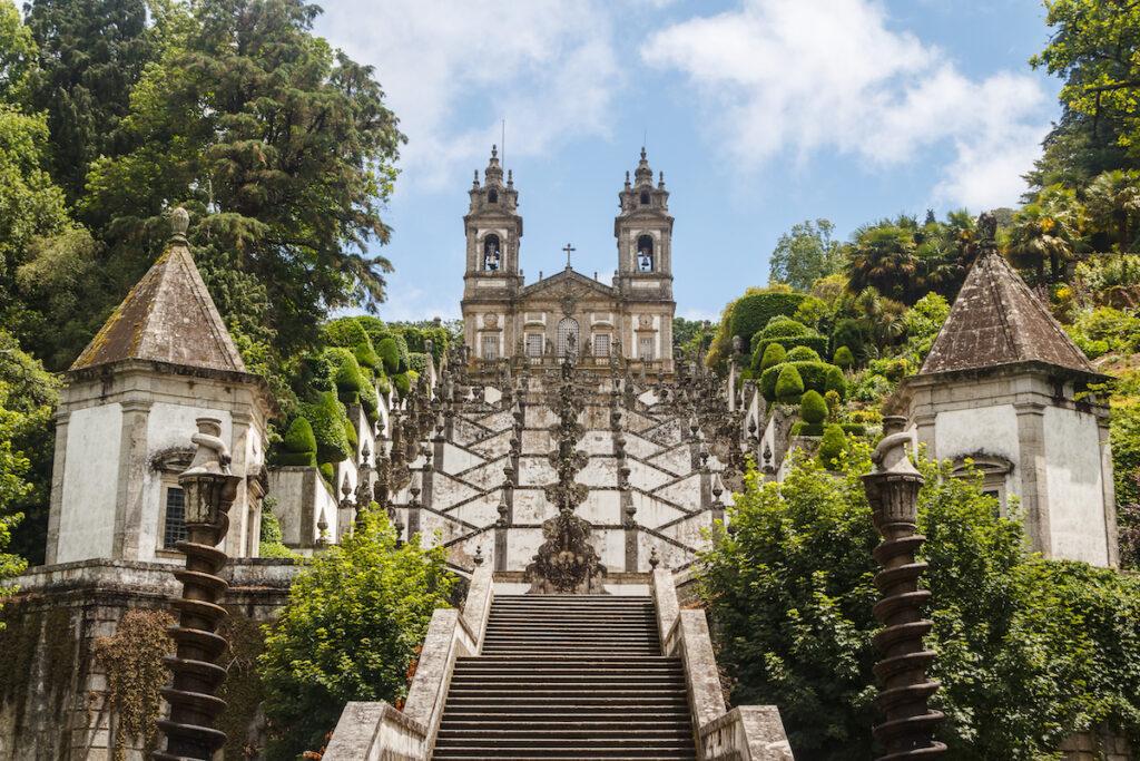 The church of Bom Jesus do Monte in Braga.